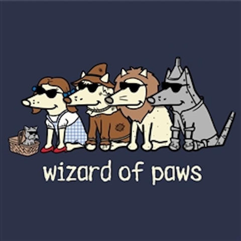 Wizard of Paws - Sweatshirt Pullover Hoodie - Teddy the Dog T-Shirts and Gifts
