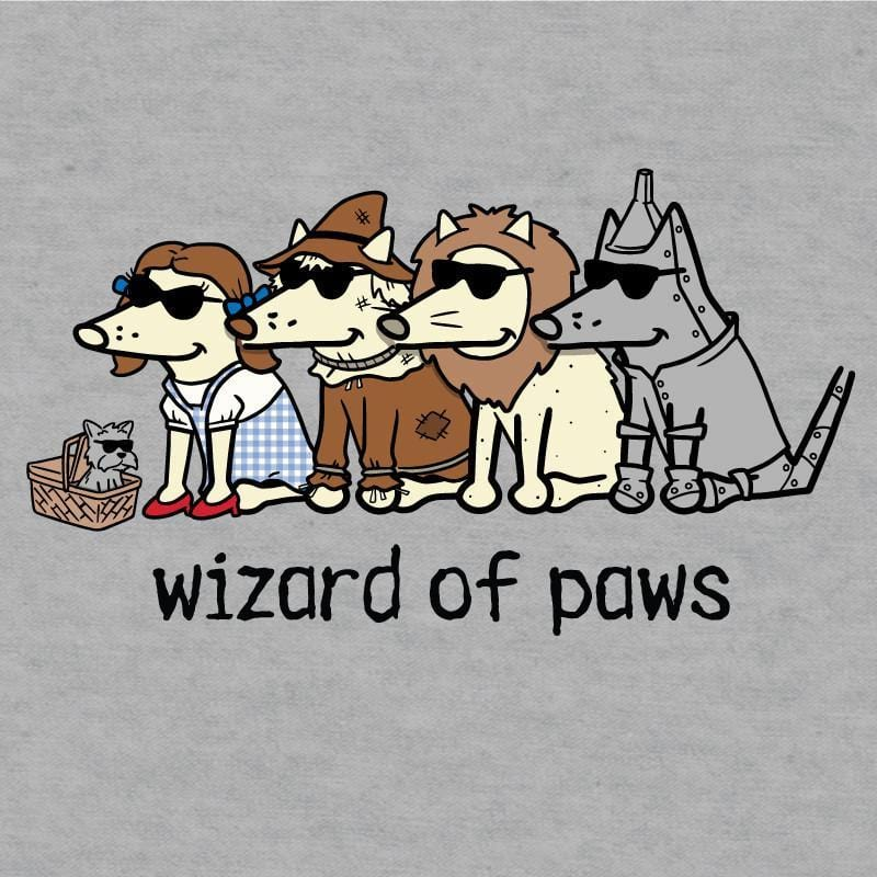 wizard of paws ladies v neck t-shirt