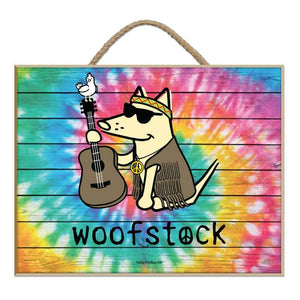 Woofstock - Guitar - Plaque
