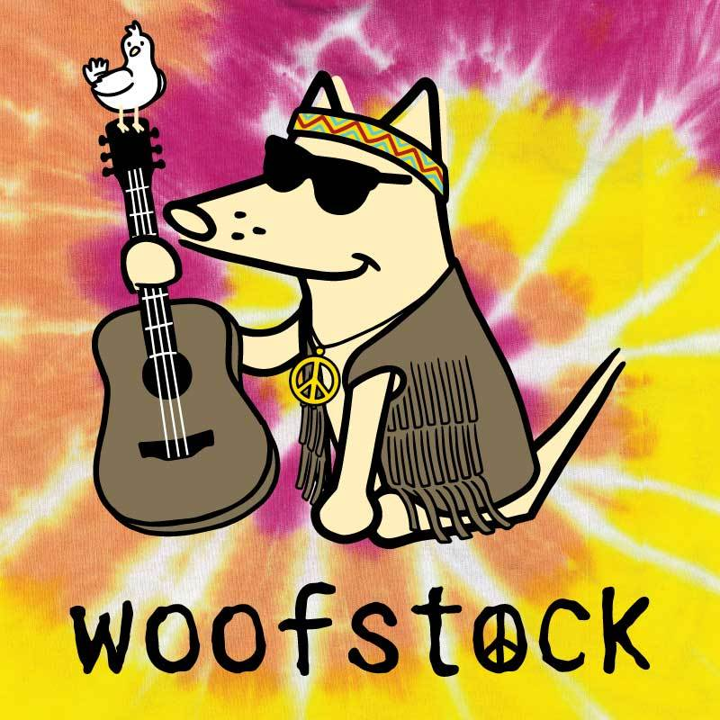 Woofstock - Guitar - Classic Tee