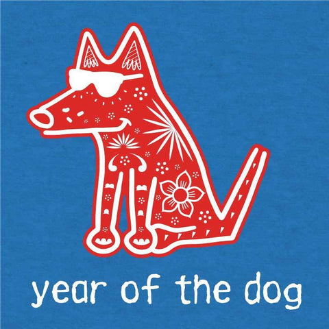 Year Of The Dog - Long Sleeve T-Shirt Hoodie
