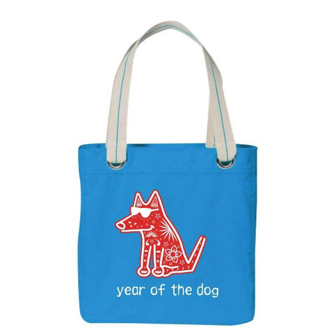 Year of The Dog - Canvas Tote