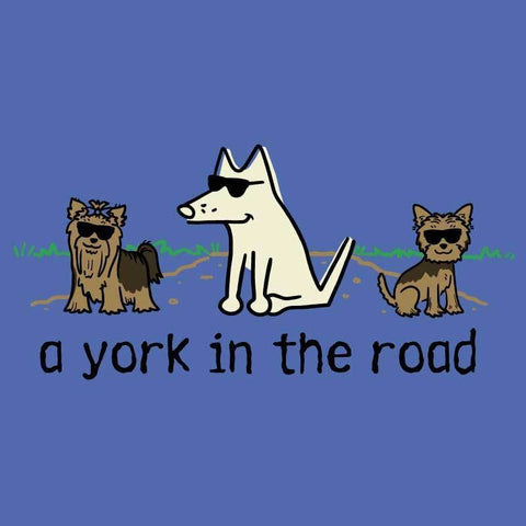 A York In The Road - Classic Tee - Teddy the Dog T-Shirts and Gifts