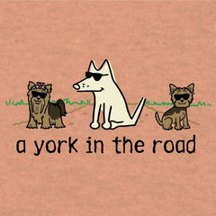 A York In The Road - Lightweight Tee - Teddy the Dog T-Shirts and Gifts