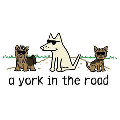 A York In The Road - Coffee Mug - Teddy the Dog T-Shirts and Gifts
