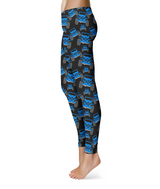 Plaid Jeep Leggings  (Multiple Color Options)