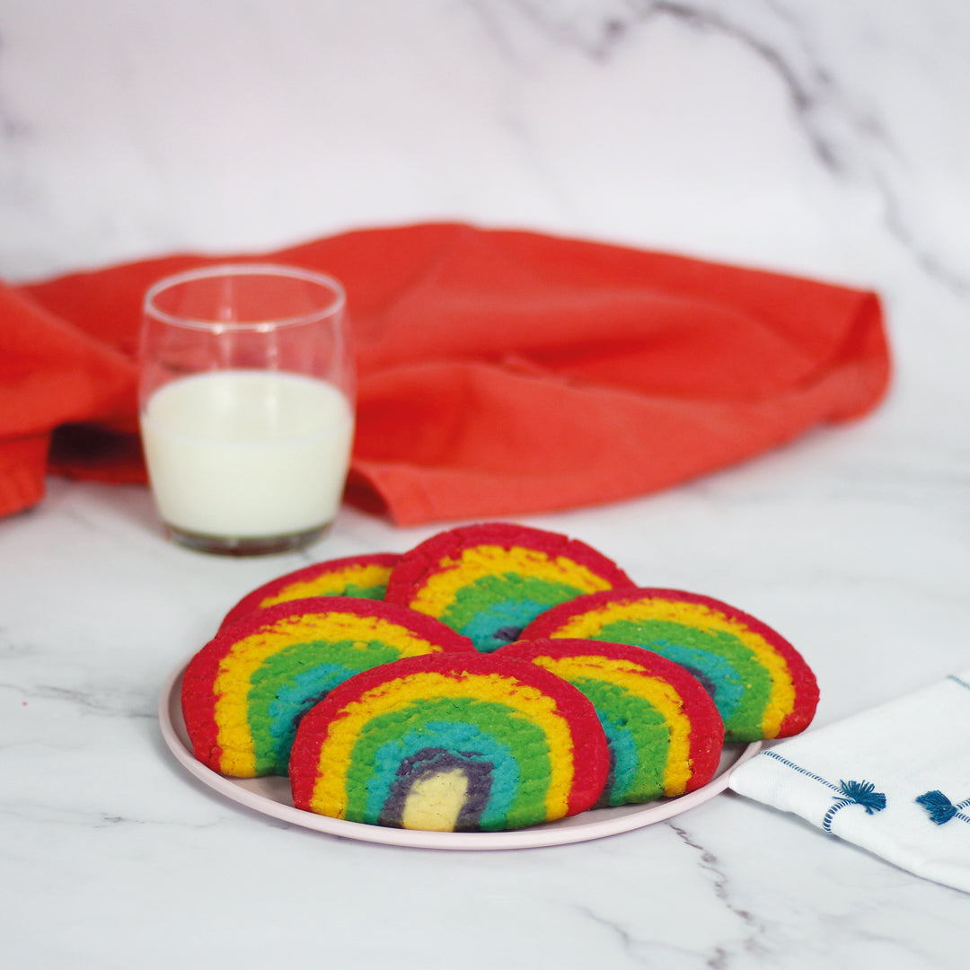 Rainbow Polvorones - Minimum 12 per order