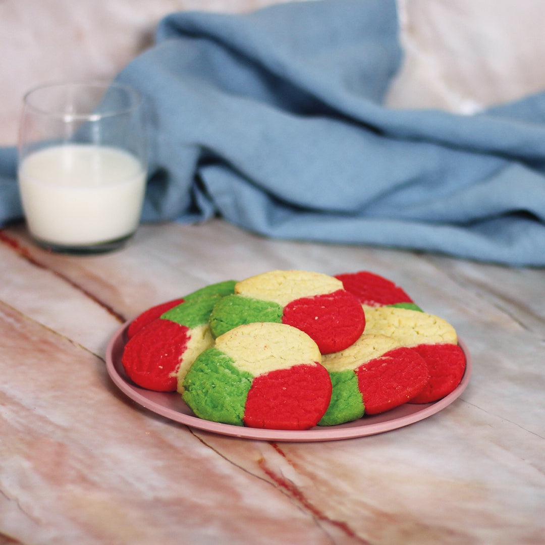 Polvorónes tricolor (minimum 10 per order)