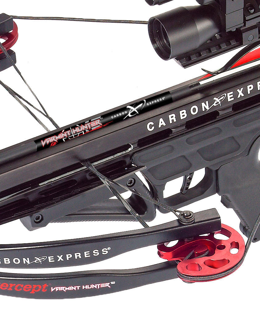 Carbon Express Intercept Varmint Hunter crossbow cams and front end