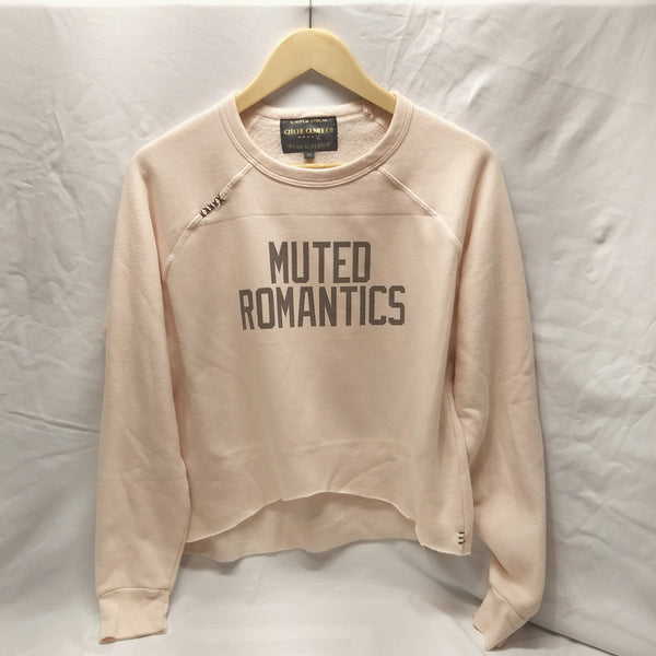 GItche Gumee Co Muted Romantics sweatshirt croptop