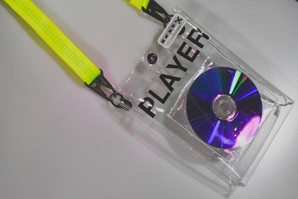 Disc Player Clear Crossbody