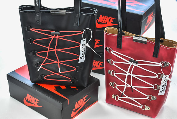Lace Up Tote