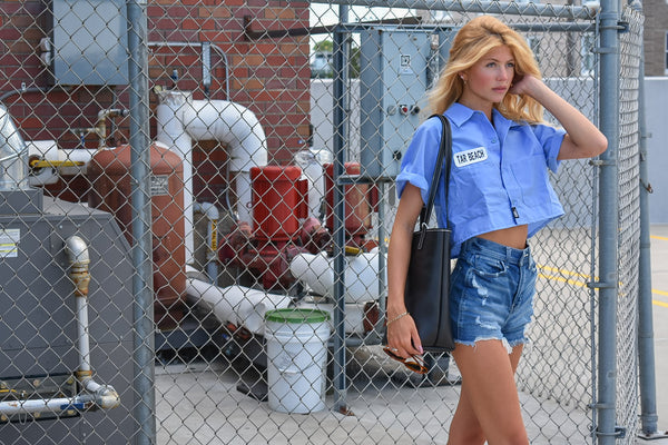 Tar Beach Crop'd Workshirt