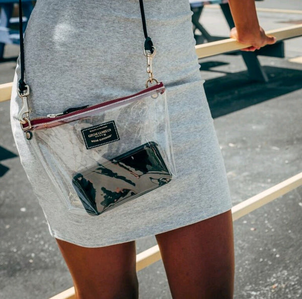 10 Cent Clear Crossbody