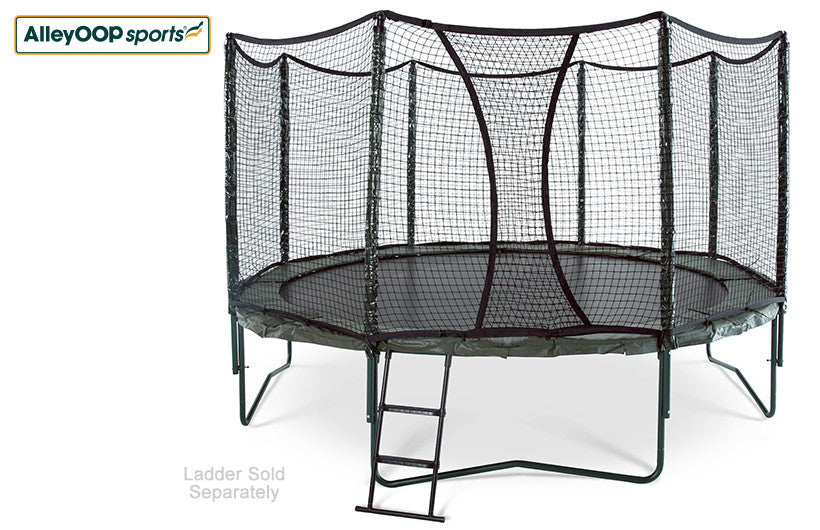 VariableBounce 14' Trampoline with Enclosure