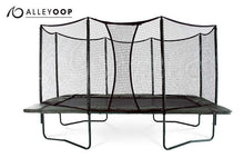 VariableBounce 10'×17' Rectangular Trampoline with Enclosure