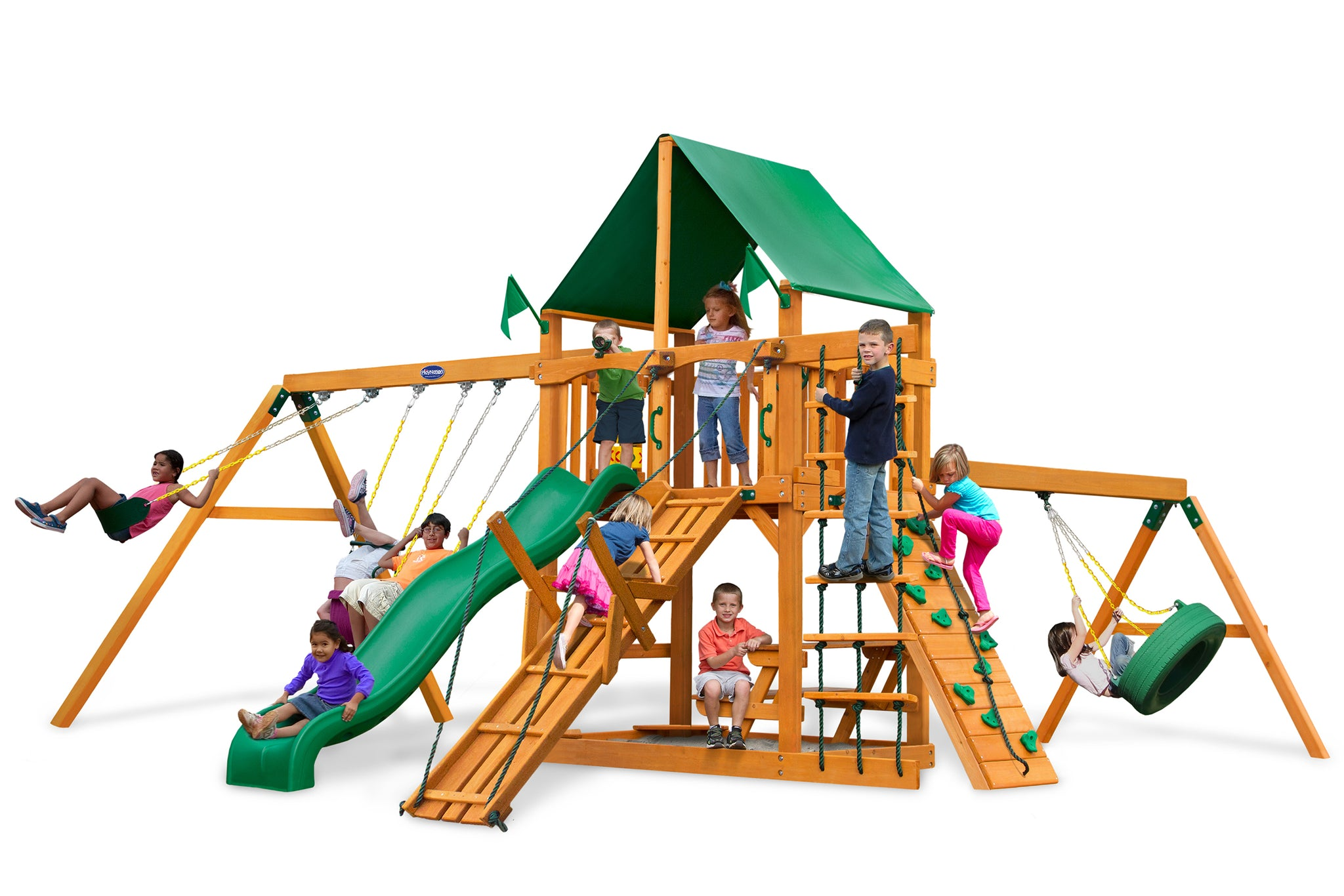 Play Nation Horizon Tire Swing & Ramp