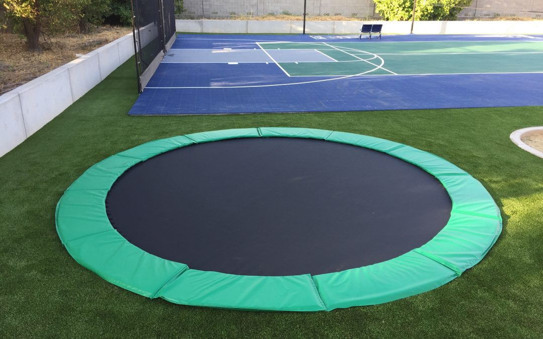15' In-Ground Trampoline