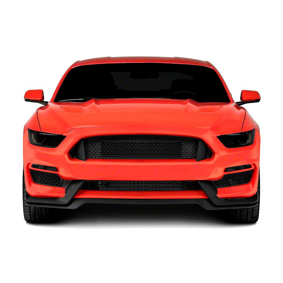 4wdmuscle gt350 style unpainted front body kit for ford mustang 2015 2017