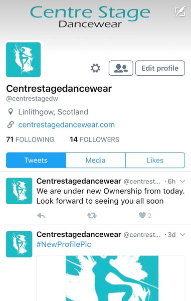 New Twitter Account Launched