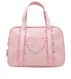 Ruffles pink dance bag