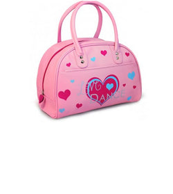 Small pink dance bag