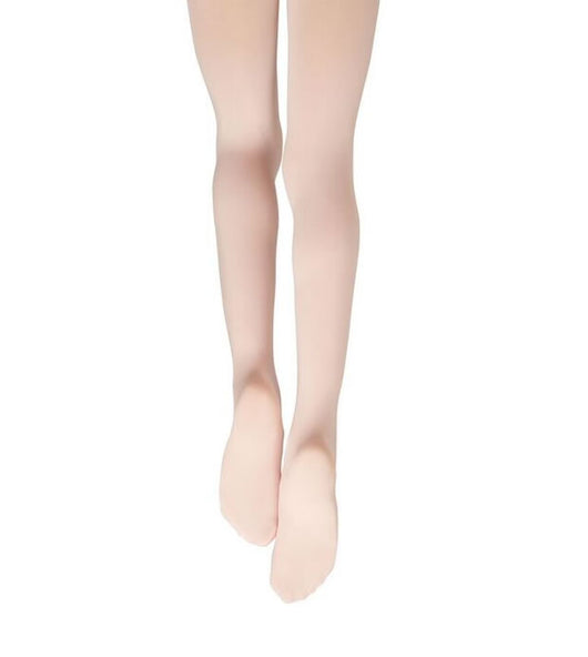 Children's Footed Ballet Tights in pink