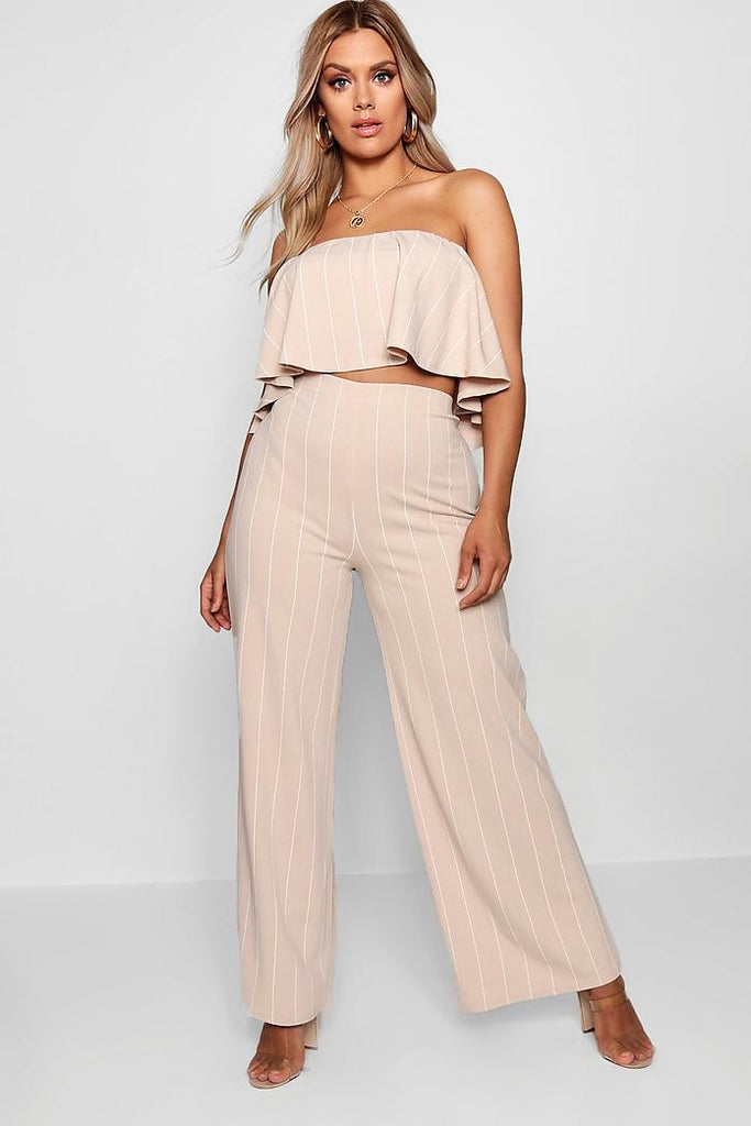 Ruffled Tube Two-Piece Co-ord