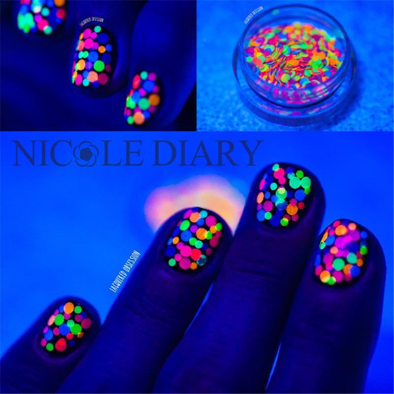Multi colour Nail Glitter