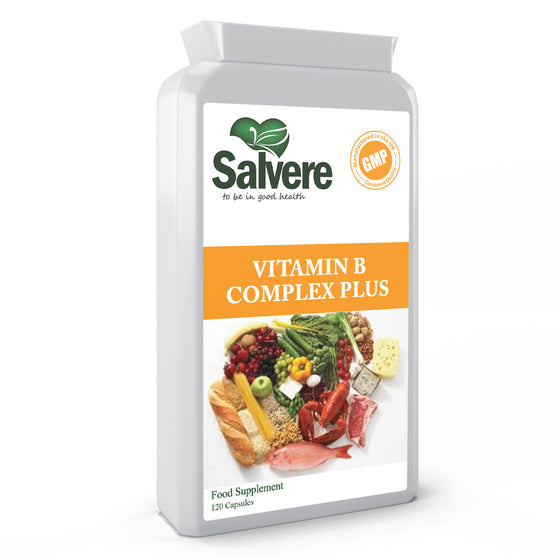 Vitamin B Complex Daily Complex Contains Complete B Vitamins, D-Biotin & Folic Acid