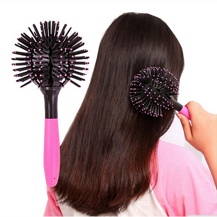 Round Detangling Hair Brush