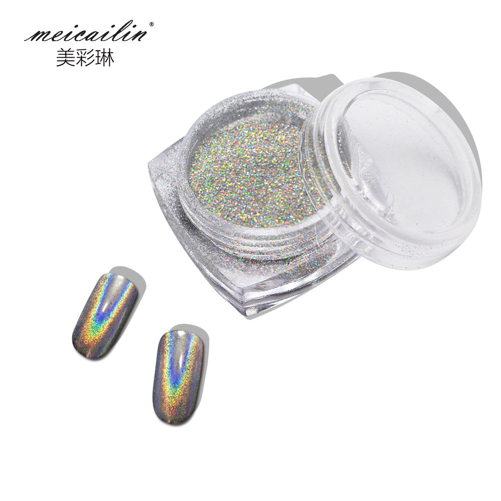 Holographic Nail Glitter Powder