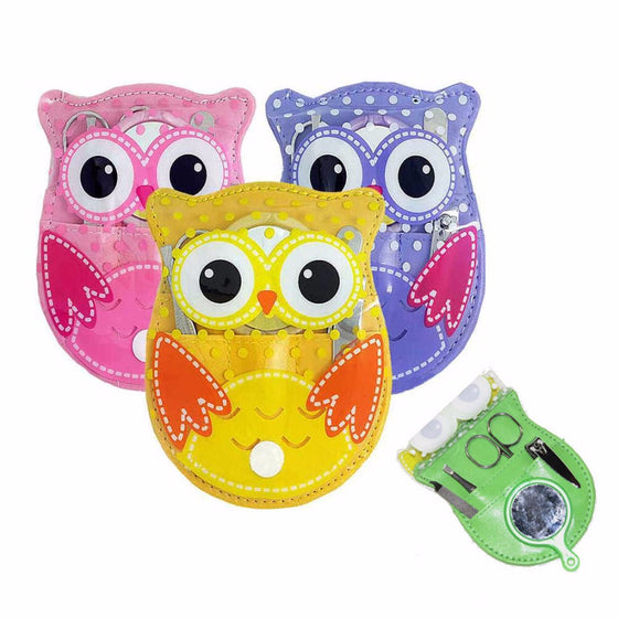 Cute Owl Nail Care Set