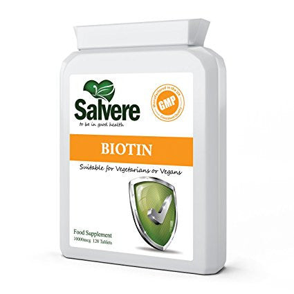 BIOTIN FOR HAIR, NAILS & SKINCARE - Study shows that taking high level of Biotin can help treat your weak hair and nails. Biotin (vitamin b7) can also protect your skin from acne, rashes, fungal infection, severe dryness and cracking of skin.