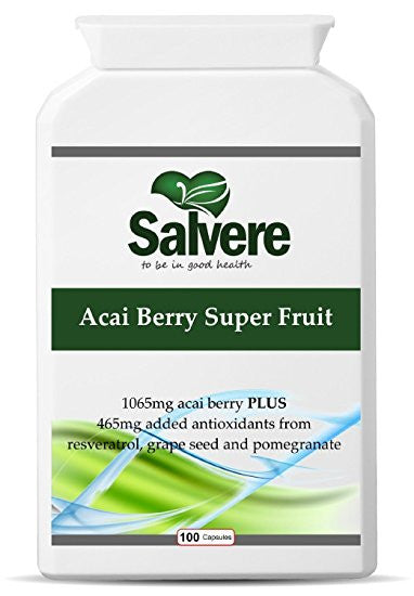 MAKE YOUR HEART HEALTHY AGAIN: Acai berry super fruit is extremely high in anthocyanins (plant antioxidant) to lower cholesterol levels and plant sterols to prevent blood clots and improve blood circulation.