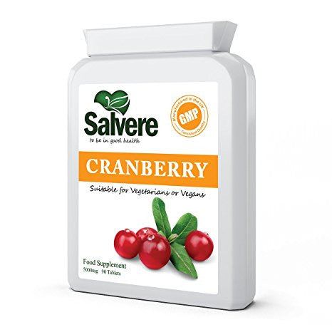 BEST KNOWN IN PREVENTING UTI (urinary tract infection) and bladder infection with high level of proanthocyanidins (PACs) to fight off infections. Study shown that cranberry capsules is more effective than cranberry juice to treat UTI and wash out e coli bacteria.