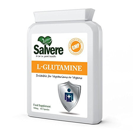 MAINTAIN NORMAL BLOOD GLUCOSE CONTROL - L-glutamine capsules help maintain normal blood glucose and acid levels. It is the most abundant free essential amino acids in muscle, cerebrospinal fluid and in circulation.