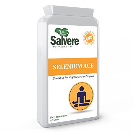 POTENT ANTIOXIDANT - Selenium ACE act as an antioxidant and defend against oxidative stress to protect cells from damage. It helps enhance the body's resistance against common diseases and stress, it also lowers free radical damage and inflammation.