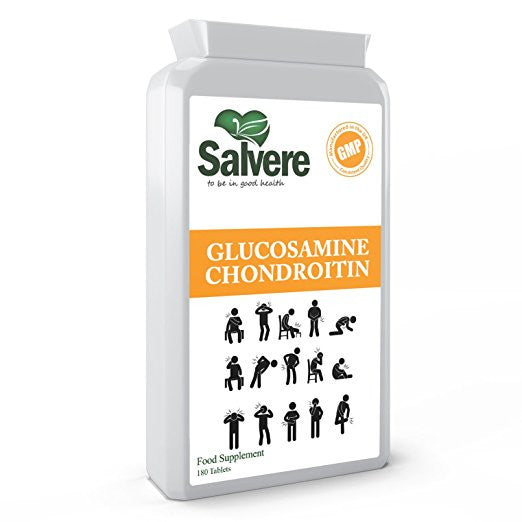 HEALTHY BONES & JOINT PAIN RELIEF - Chondroitin joint supporting supplements that helps rebuild cartilage naturally and boosts recovery of tissue after having an injury or exercise. Glucosamine chondroitin are both having a similar mechanisms of lowering inflammation and treating pain.