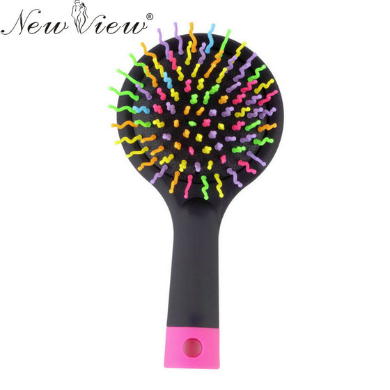 NewView Rainbow Hair Brush