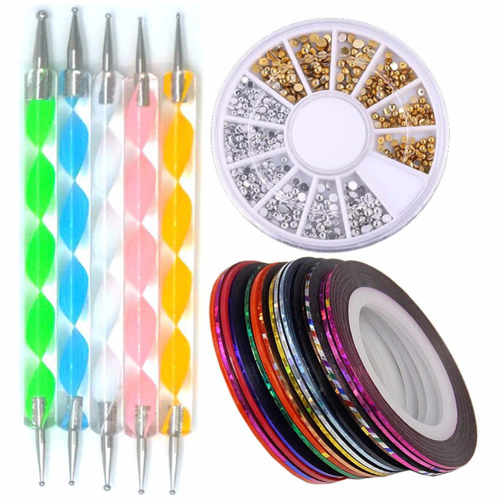 Nail Art Tools Sets and designs