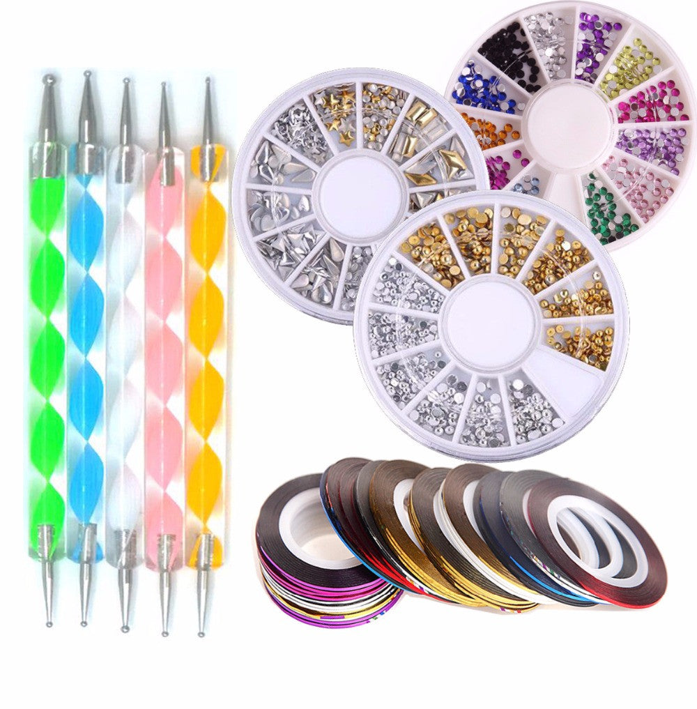 Nail Art Tools Sets and designs - Salvere Health