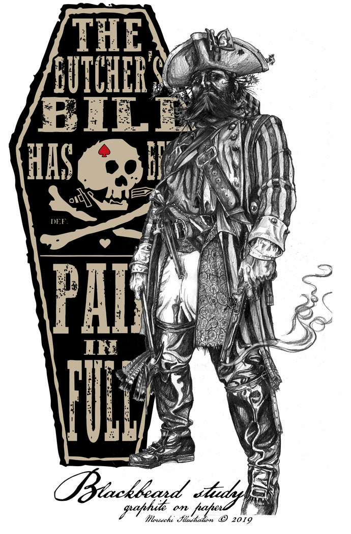 """I'll GIVE NO QUARTER NOR TAKE ANY FROM YOU!""   Black Beard's Tale"