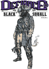 Black Squalls Defiance Collection Edward Teach Blackbeard Butchers Bill Tee