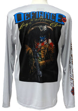 "SPIRIT OF AMERICA Liberty or Death!! - Men's Cooling Performance ""Dri Fit"" Long Sleeve Tee"