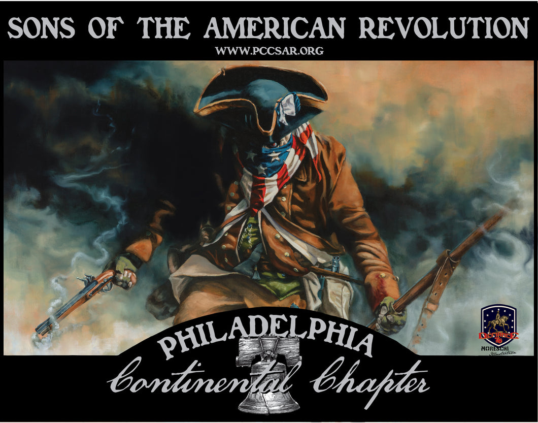 The Philadelphia Continental Chapter SAR Art Print