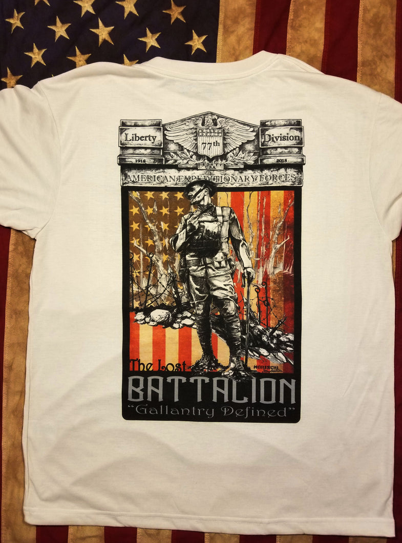 THE LOST BATTALION Tribute Tee