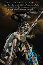 """STAND FIRM"" General George Washington Art Print"