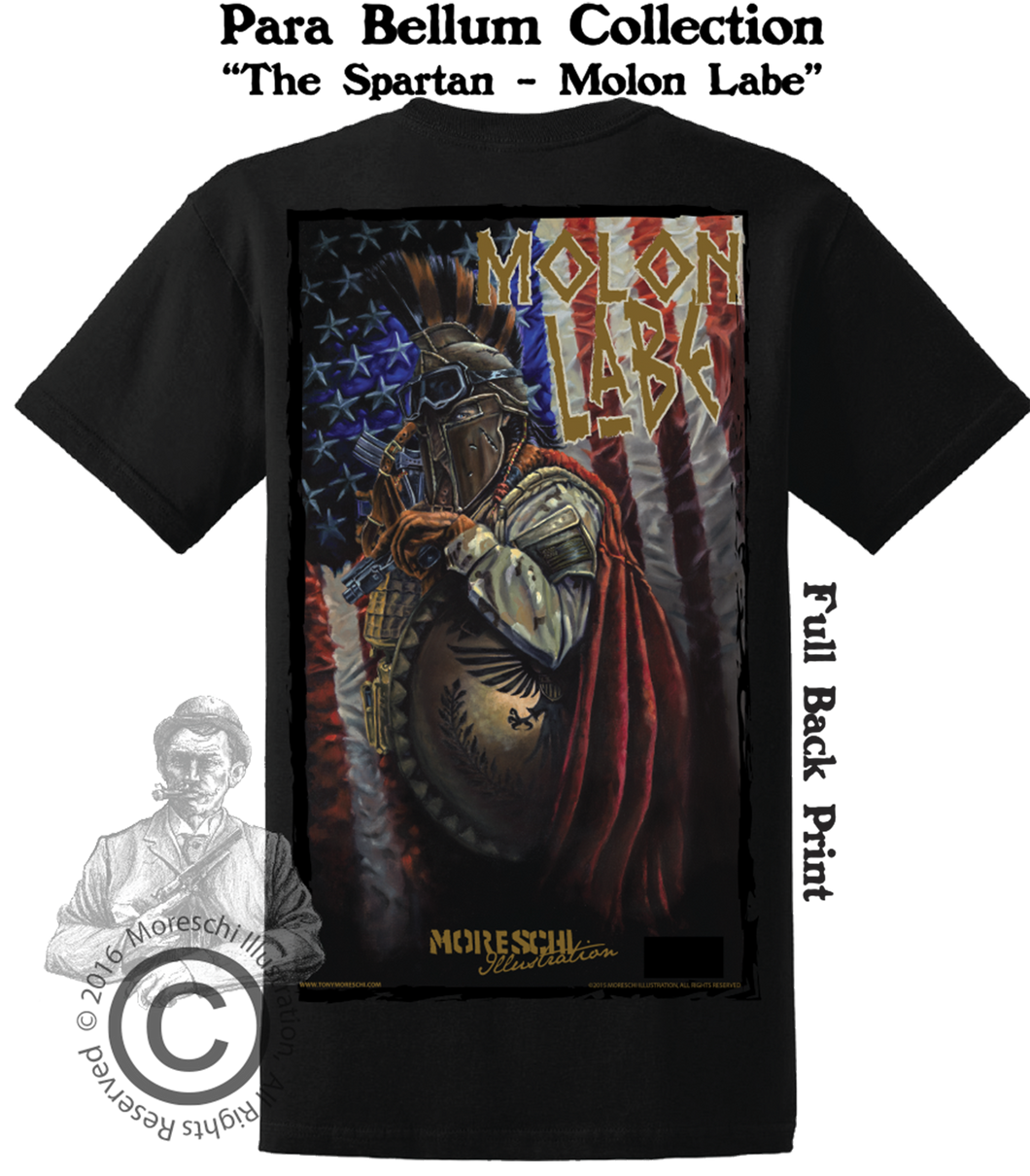 Para Bellum Collection - The Spartan - Molon Labe - Model #2016007