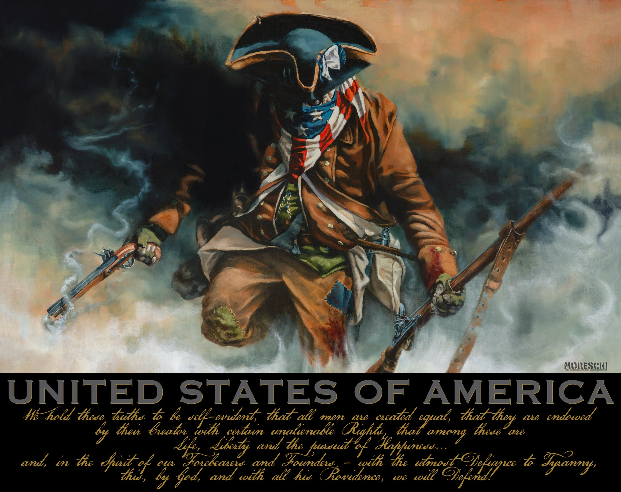 ART PRINT- First Citizen U.S.A. Variant print
